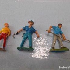 Figuras de Goma y PVC: STARLUX, BRITAINS. LOTE CIVILES, GRANJA ,CIRCO O GRAND PRIX.ORIGINALES AÑOS 60/70. PTOY. Lote 118459379