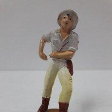 Figuras de Goma y PVC: EXPLORADOR . REALIZADO POR GAMA . SERIE SAFARI . AÑOS 50 EN GOMA. Lote 118474795