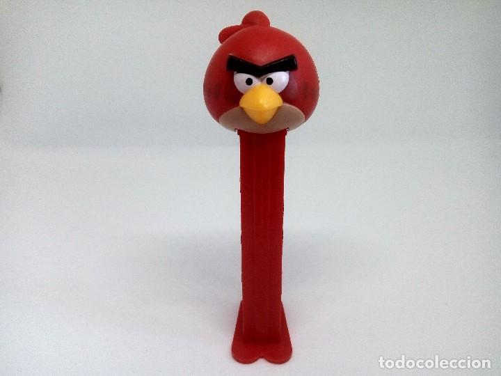 DISPENSADOR CARAMELOS PEZ - ANGRY BIRDS (Juguetes - Figuras de Gomas y Pvc - Dispensador Pez)