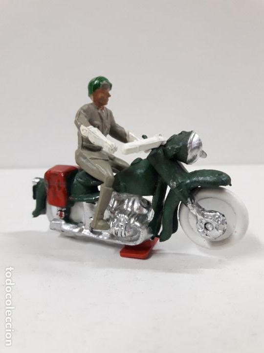 MOTORISTA . REALIZADO POR M. SOTORRES . AÑOS 60 (Juguetes - Figuras de Goma y Pvc - Sotorres)