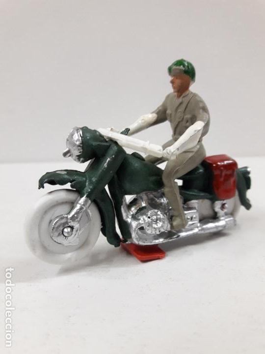 Figuras de Goma y PVC: MOTORISTA . REALIZADO POR M. SOTORRES . AÑOS 60 - Foto 2 - 118573943