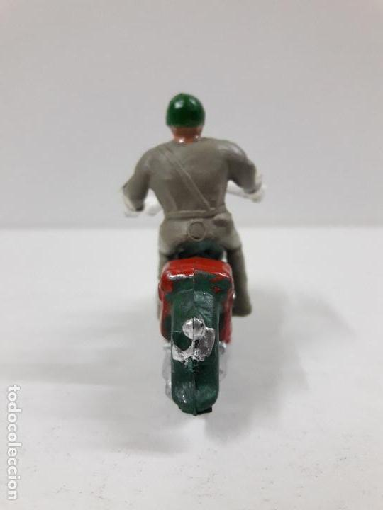 Figuras de Goma y PVC: MOTORISTA . REALIZADO POR M. SOTORRES . AÑOS 60 - Foto 4 - 118573943