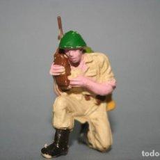 Figuras de Goma y PVC: FIGURA PECH HERMANOS SOLDADO AMERICANO. Lote 118587247