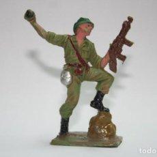 Figuras de Goma y PVC: FIGURA PECH HERMANOS SOLDADO AMERICANO. Lote 118587359