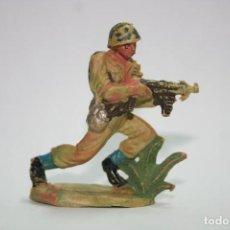 Figuras de Goma y PVC: FIGURA PECH HERMANOS SOLDADO AMERICANO. Lote 118587455