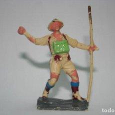Figuras de Goma y PVC: FIGURA PECH HERMANOS SOLDADO INGLÉS. Lote 118587663
