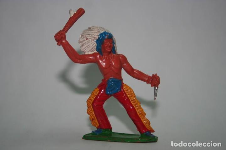FIGURA INDIO SOTORRES (Juguetes - Figuras de Goma y Pvc - Sotorres)