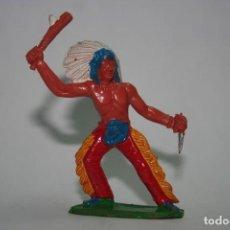 Figuras de Goma y PVC: FIGURA INDIO SOTORRES. Lote 118588447