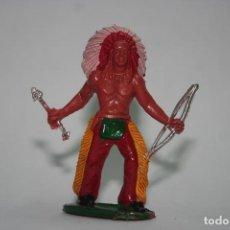 Figuras de Goma y PVC: FIGURA INDIO SOTORRES. Lote 118588487