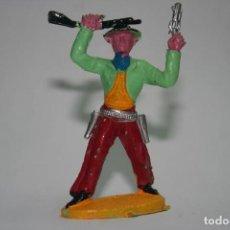 Figuras de Goma y PVC: FIGURA VAQUERO SOTORRES. Lote 118588519