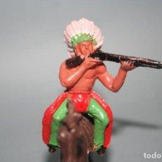 Figuras de Goma y PVC: FIGURA INDIO SOTORRES. Lote 118588691