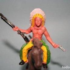 Figuras de Goma y PVC: FIGURA INDIO SOTORRES. Lote 118588867