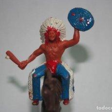 Figuras de Goma y PVC: FIGURA INDIO SOTORRES. Lote 118588923
