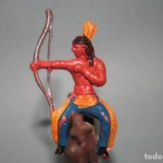 Figuras de Goma y PVC: FIGURA INDIO SOTORRES. Lote 118588947