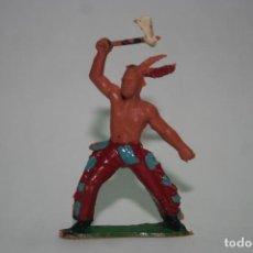 Figuras de Goma y PVC: FIGURA INDIO IROKOI O IROQUES DE SOTORRES. Lote 118589223