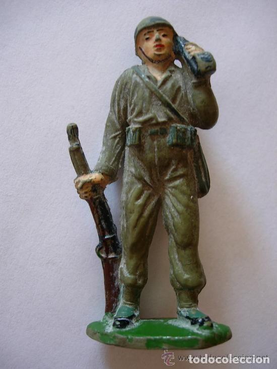 FIGURA SOLDADO MARINE JECSAN GOMA (Juguetes - Figuras de Goma y Pvc - Jecsan)