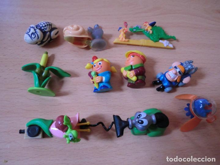 KINDER, LOTE FIGURAS SERIE K00 (Juguetes - Figuras de Gomas y Pvc - Kinder)