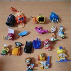 Figuras Kinder: KINDER, LOTE FIGURAS SERIE TT. Lote 118790467