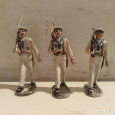 Figuras de Goma y PVC: FIGURAS EN GOMA MARINEROS DE PECH . Lote 118880251