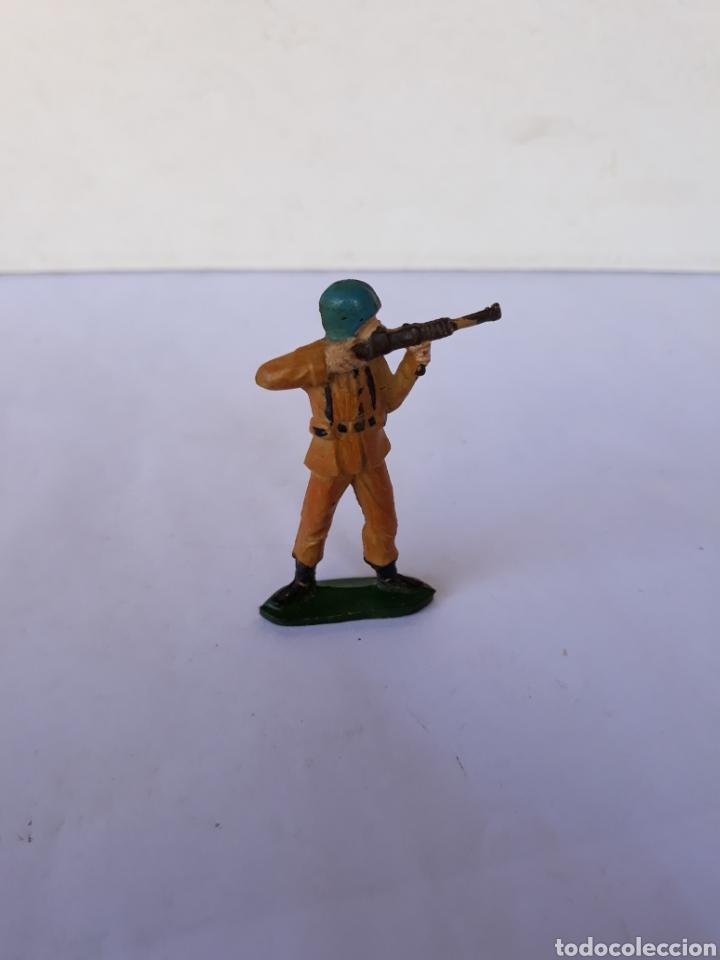 TEIXIDO SOLDADO ESPAÑOL EN GOMA (Juguetes - Figuras de Goma y Pvc - Teixido)