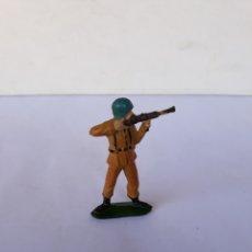 Figuras de Goma y PVC: TEIXIDO SOLDADO ESPAÑOL EN GOMA. Lote 118889859