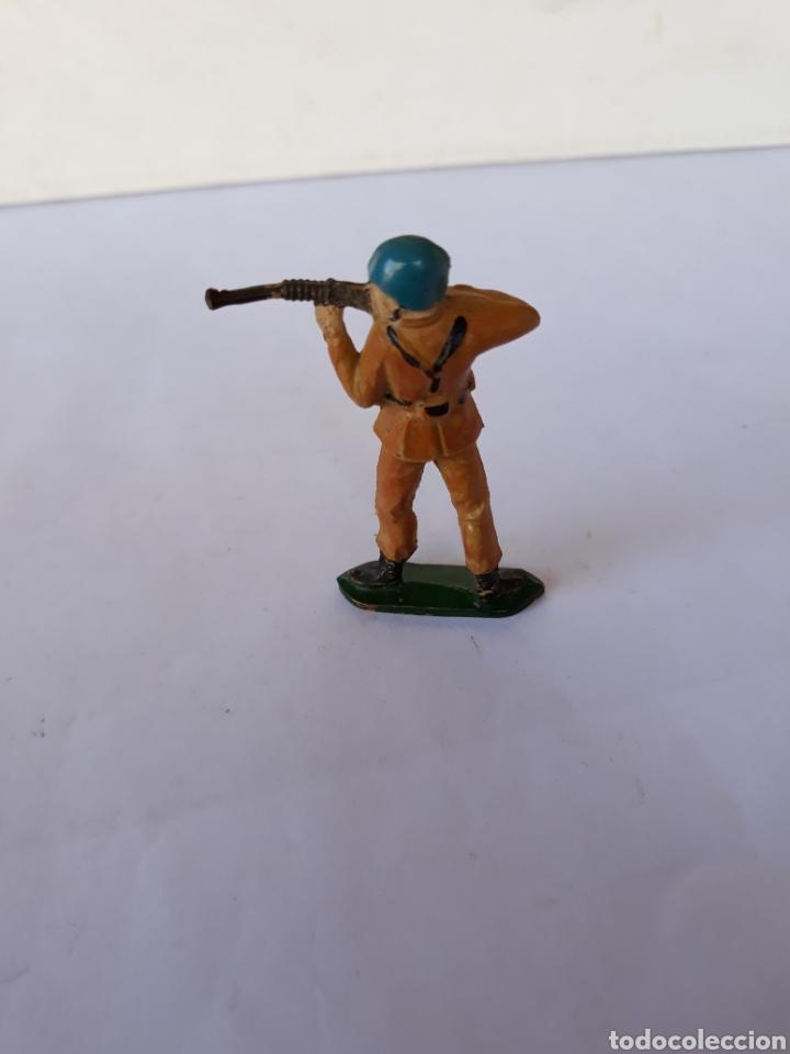 Figuras de Goma y PVC: TEIXIDO SOLDADO ESPAÑOL EN GOMA - Foto 2 - 118889859