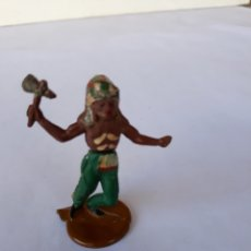 Figuras de Goma y PVC: GAMA INDIO EN GOMA. Lote 118984444