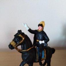 Figuras de Goma y PVC: TOREROS JECSAN TORO PLAZA DE TOROS TAUROMAQUIA FIGURA ALGUACIL A CABALLO PVC . Lote 118993867