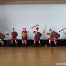 Figuras de Goma y PVC: SOLDADOS ROMANOS PVC JECSAN ROMANO. Lote 118994019