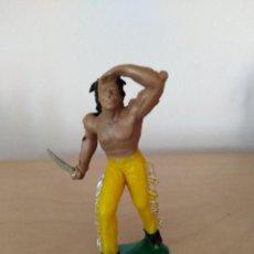 Figuras de Goma y PVC: INDIO EN PVC JECSAN OESTE PECH . Lote 118994971