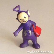 Figuras de Goma y PVC: TINKY WINKY - FIGURA DE GOMA - BULLYLAND - PERSONAJE MORADO DE LOS TELETUBBIES - JUGUETE MUÑECO TELE. Lote 119141999