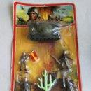 Figuras de Goma y PVC: SOLDADOS ESPAÑOLES EN BLISTER COMANSI NOVOLINEA . Lote 119265835