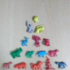 Figuras de Goma y PVC: LOTE 15 FIGURAS ANIMALES PVC . Lote 119267239