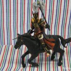 Figuras de Goma y PVC: PAPO, CABALLERO A CABALLO. Lote 119355263
