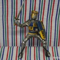 Figuras de Goma y PVC: SCHLEICH, CABALLERO MEDIEVAL. Lote 119356787