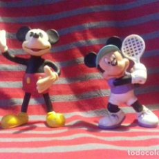 Figuras de Goma y PVC: 2 FIGURAS PVC MICKEY MOUSE. DISNEY. BULLYLAND HANDPAINTED. Lote 119386931