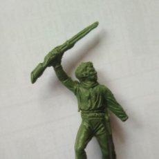Figuras de Goma y PVC: VAQUERO JECSAN. Lote 119470615
