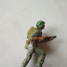 Figuras de Goma y PVC: FIGURA SOLDADO AMERICANO PECH GOMA. Lote 119471055