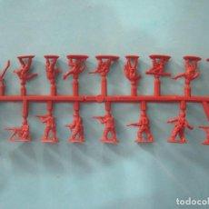 Figuras de Goma y PVC: MONTAPLEX- MONTAPLEX- COLADA DE COREA DEL SUR-SERIE 100-COLOR ROJO. Lote 195428851