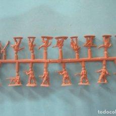 Figuras de Goma y PVC: MONTAPLEX- COLADA DE COREA DEL SUR-SERIE 100-COLOR OCRE. Lote 119488659