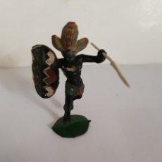Figuras de Borracha e PVC: ARCLA EN GOMA GUERRERO NEGRO AFRICA SALVAJE. Lote 119514418