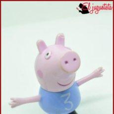 Figuras de Goma y PVC: PEPPA PEPA PIG - ASTLEY BAKER ABD/ENT ONE UK LTD 2003 - GEORGE PIG. Lote 119858903