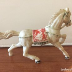 Figuras de Goma y PVC: FIGURA CABALLO. AÑOS 70. TIPO COMANSI.. Lote 120001751