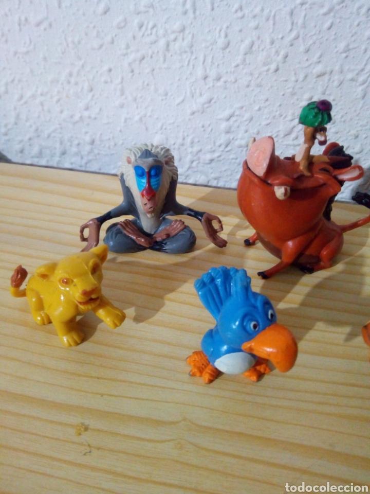Figuras de Goma y PVC: Lote 5 Figuras rey leon pvc disney - Foto 2 - 120036638
