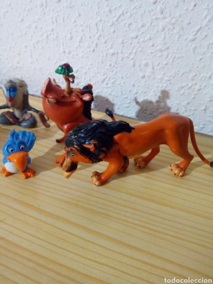 Figuras de Goma y PVC: Lote 5 Figuras rey leon pvc disney - Foto 3 - 120036638
