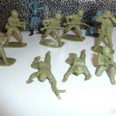 Figuras de Goma y PVC: LOTE SOLDADOS DE PLÁSTICO. Lote 120077775