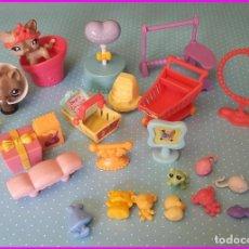 Figuras de Goma y PVC: LITTLEST PET SHOP HASBRO LOTE DE ACESORIOS. Lote 120126543