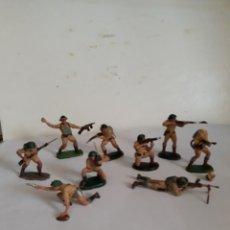 Figuras de Goma y PVC: PECH SOLDADOS BRITANICOS INGLESES PLASTICO. Lote 120206480