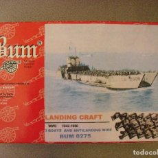 Figuras de Goma y PVC: BUM - MONTAPLEX - MONTAMAN - 1/72 - BARCAZAS DE DESEMBARCO. Lote 120230299