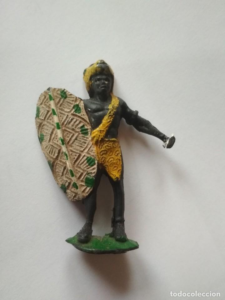 FIGURA GUERRERO NEGRO ARCLA (Juguetes - Figuras de Goma y Pvc - Arcla)